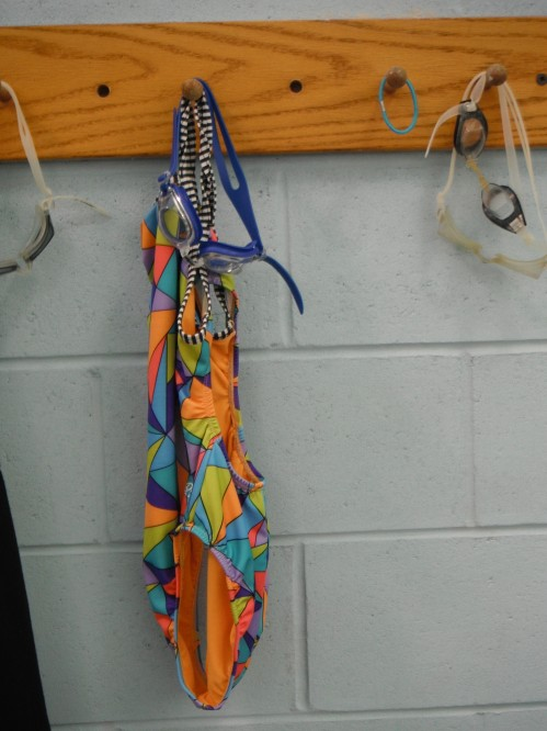 I have noticed this suit hanging on the wall for a few sessions and it takes all my discipline not to nab it. So cute!