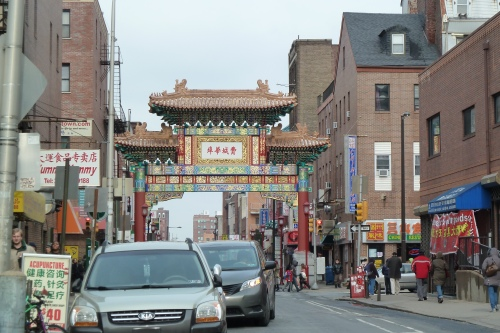 Entrance to Chinatown, so festive!